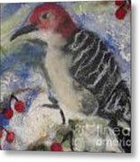 Pileated Wood Pecker Metal Print by Shakti Chionis