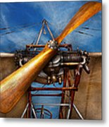 Pilot - Prop - They Don't Build Them Like This Anymore Metal Print by Mike Savad