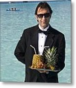 Pina Colada Anyone Metal Print by David Smith