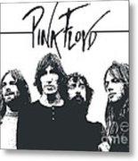 Pink Floyd No.05 Metal Print by Unknow
