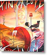Pink Floyd The Wall Metal Print by Joshua Morton