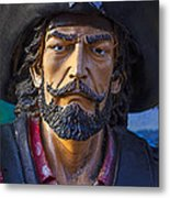 Pirate Captain Metal Print by Garry Gay