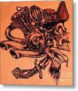 Pirate Metal Print by Sean Ingram