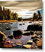 Piscataquis River Dover-foxcroft Maine Metal Print by Bob Orsillo
