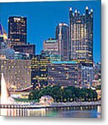 Pittsburgh New 2  Metal Print by Emmanuel Panagiotakis