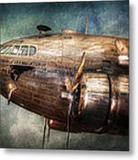 Plane - Pilot - The Flying Cloud  Metal Print by Mike Savad