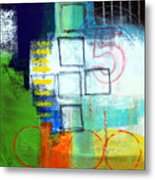 Playground Metal Print by Linda Woods