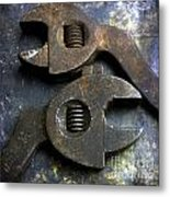 Pliers Metal Print by Bernard Jaubert