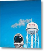 Pluto Metal Print by Scott Listfield