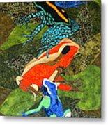 Poison Dart Frogs Metal Print by Lynda K Boardman