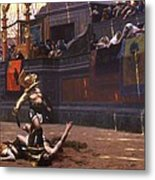 Pollice Verso Metal Print by Pg Reproductions