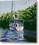 Ponce De Leon Passage Metal Print by Karol Wyckoff