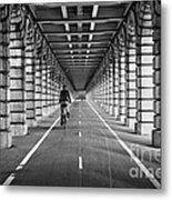 Pont De Bercy Metal Print by Delphimages Photo Creations