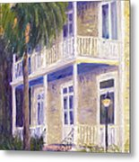 Poogan's Porch Metal Print by Patricia Huff