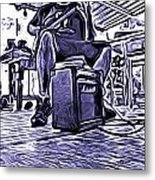 Porch Pickin Metal Print by Bartz Johnson