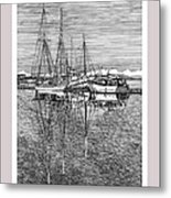Reflections Of Port Orchard Washington Metal Print by Jack Pumphrey