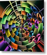 Portal 5 Metal Print by Wendy J St Christopher