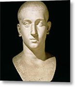 Portrait Bust Of Emperor Severus Alexander Metal Print by Anonymous