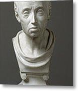 Portrait Of Emmanuel Kant  Metal Print by Friedrich Hagemann