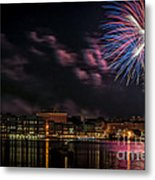 Portsmouth Nh Fireworks 2013 Metal Print by Scott Thorp