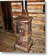 Potbelly Stove Metal Print by Marty Koch