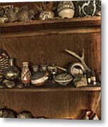 Pots And Things Metal Print by William Fields