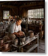 Potter - Raised In The Clay Metal Print by Mike Savad