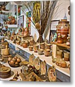 Pottery In La Borne Metal Print by Oleg Koryagin