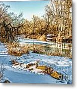 Poudre Dusk Metal Print by Baywest Imaging