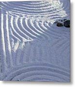 Powder In Zen Two Metal Print by Feile Case