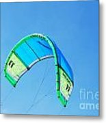 Power Kite Metal Print by DejaVu Designs