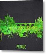 Prague Czech Republic Metal Print by Aged Pixel