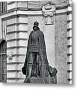 Prague - The Iron Man From A Long Time Ago And A Country Far Far Away Metal Print by Christine Till
