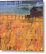 Prairie Song Metal Print by Carolyn Doe