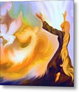 Praise Him Metal Print by Susanna  Katherine