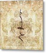 Prayer Flag 15 Metal Print by Carol Leigh