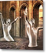 Precisely Aware Metal Print by Betsy C Knapp