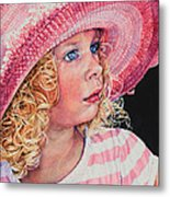 Pretty In Pink Metal Print by Hanne Lore Koehler