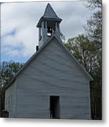 Primative Baptist Church In Cades Cove Metal Print by Roger Potts