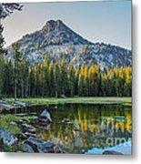 Pristine Alpine Lake Metal Print by Robert Bales
