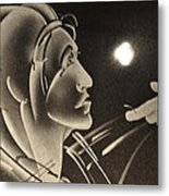Prodigal Sees The Light Metal Print by Cathi Cackler-Veazey