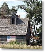 Proudly She Stands Metal Print by Caryl J Bohn