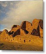 Pueblo Del Arroyo At Sunset II Metal Print by Feva  Fotos