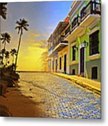 Puerto Rico Collage 2 Metal Print by Stephen Anderson