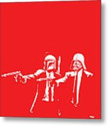 Pulp Wars Metal Print by Patrick Charbonneau