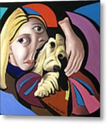 Puppy Love Metal Print by Anthony Falbo