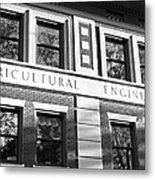 Purdue University Agricultural Engineering Metal Print by University Icons