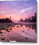 Purple Dawn Metal Print by Davorin Mance