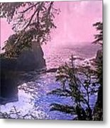 Purple Haze Metal Print by Marty Koch