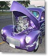 Purple Monster Metal Print by John Telfer